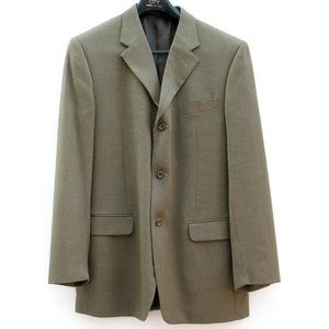 Jones New York Sport Coat Olive Birdseye Sz L42